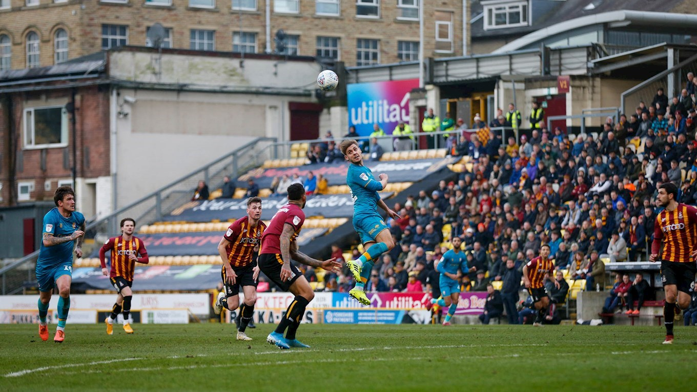 Report Bradford City 2 0 Stags News Mansfield Town