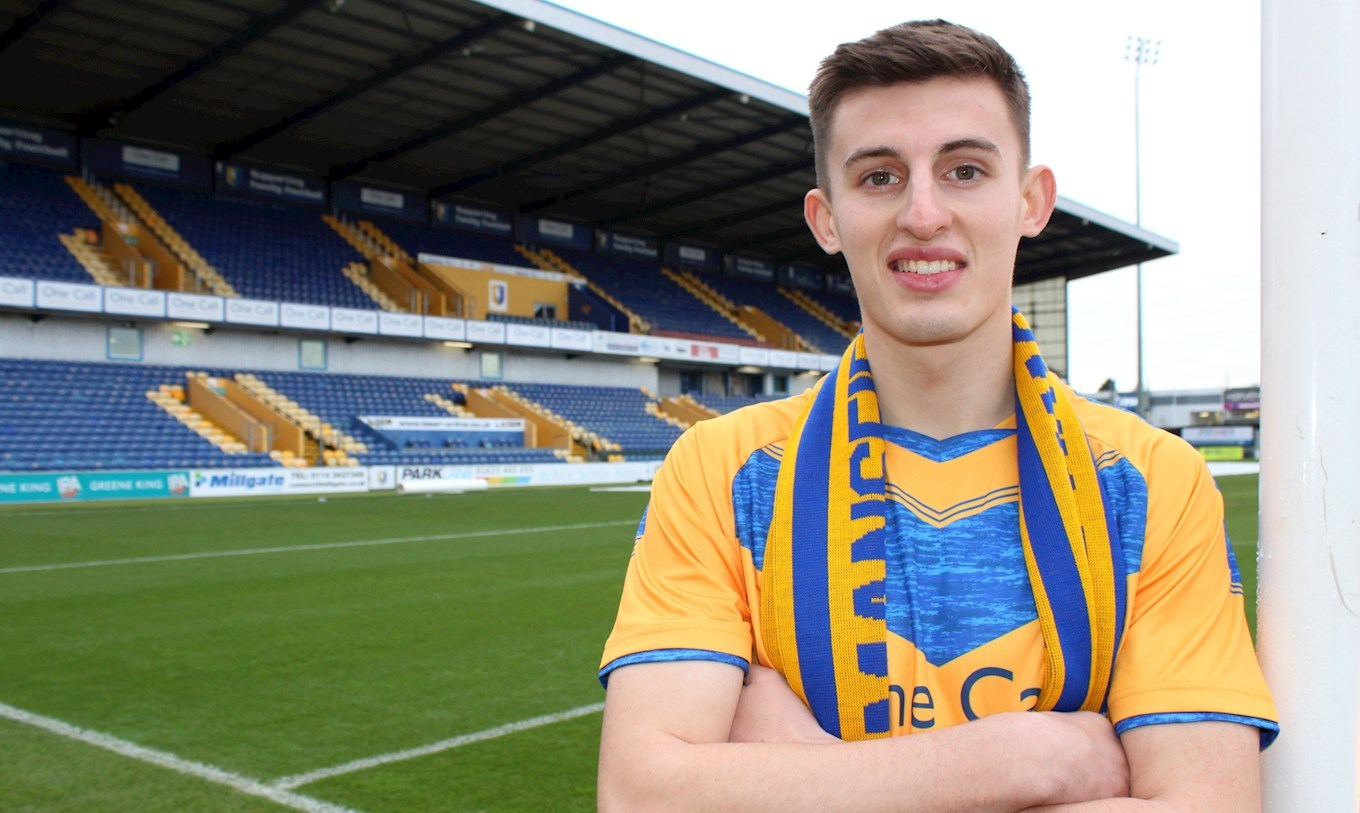 Defender joins on loan - News - Mansfield Town