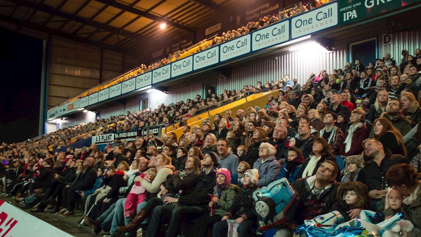 SOLD OUT: Fireworks night - News - Mansfield Town