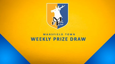 Mansfield Town Weekly Prize Draw